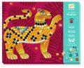 Djeco Mozaikové obrázky s drahokamy -  Jungle - Djeco
