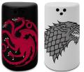 Solnička a pepřenka Game of Thrones - Stark & Targaryen - MagicBox