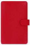 Filofax  Diář A6 - Saffiano, Osobní Compact, červená - Filofax