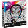 Puzzle 3D Colour Therapy Sova/500 dílků - neuveden