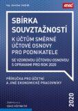 Sbírka souvztažností k účtům směrné účtové osnovy 2020 - Jaroslav Jindrák