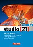 Studio 21 A2 Intensivtraining mit Audio-CD und Extraseiten fur Integrationsku, Gesamtband - Funk Hermann