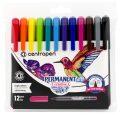 Centropen Popisovač 2896 Permanent creative - sada 12 barev - Centropen