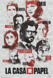 Plakát 61x91,5cm La Casa De Papel - Characters -