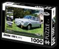 Puzzle ŠKODA 100 L (1971) - 1000 dílků - Puzzle Retro auta