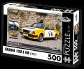 Puzzle ŠKODA 120 L VB (1987) - 500 dílků - Puzzle Retro auta