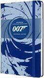 Moleskine James Bond zápisník L modrý, linkovaný - Moleskine