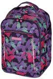 Školní batoh Ultimate Pruhovaný Motýl - Herlitz