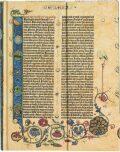 Zápisník Paperblanks - Gutenberg Bible Genesis, Ultra / linkovaný - paperblanks