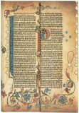 Zápisník Paperblanks - Gutenberg Bible Parabole, Mini / linkovaný - paperblanks