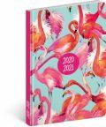 18 měsíční diář Petito – Plameňáci 2020/2021 - Presco Group