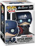 Funko POP Marvel: Avengers Game - Captain America (Stark Tech Suit) - neuveden