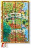 Paperblanks Diář 2021 - Monet (Bridge), Letter to Morisot / mini - neuveden