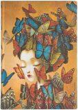 Paperblanks Zápisník Flexis Madame Butterfly Midi nelinkovaný - paperblanks