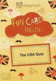 Creativo - Fun card English The USA Quiz - kolektiv autorů