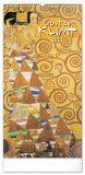 Nástěnný kalendář Gustav Klimt 2021, 33 × 64 cm - Presco Group