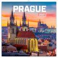 Poznámkový kalendář Praha nostalgická 2021, 30 × 30 cm - Presco Group