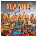 Poznámkový kalendář New York 2021, 30 × 30 cm - Presco Group