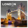 Poznámkový kalendář Londýn 2021, 30 × 30 cm - Presco Group