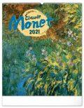 Nástěnný kalendář Claude Monet 2021, 48 × 56 cm - Presco Group
