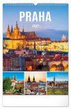 Nástěnný kalendář Praha 2021, 33 × 46 cm - Presco Group