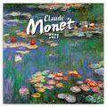 Poznámkový kalendář Claude Monet 2021, 30 × 30 cm - Presco Group