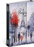 Diář 2021: Paříž - týdenní, magnetický, 11 × 16 cm (Západní verze) - Presco Group