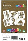 MAGIC papír šablony na malování AFRIKA - Magic