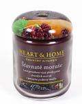 Svíčka Heart & Home - Šťavnaté moruše (115 g) - Heart & Home