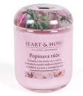 Svíčka Heart & Home - Popínavá růže (115 g) -