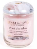 Svíčka Heart & Home - Pravé okouzlení (115 g) - Heart & Home