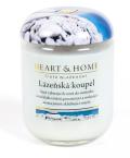 Svíčka Heart & Home - Lázeňská koupel (115 g) -