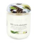 Svíčka Heart & Home - Bílý čaj & eukalyptus (115 g) -