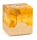 Svíčka Heart & Home bez obalu - Jantarový les (52 g) -