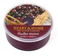 Svíčka Heart & Home v mističce - Sladké třešně svíčka v mističce (38 g) - Heart & Home