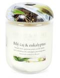 Svíčka Heart & Home - Bílý čaj & eukalyptus (340 g) -