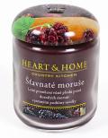 Svíčka Heart & Home - Šťavnaté moruše velká svíčka (340 g) -