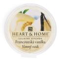 Vonný vosk Heart & Home - Francouzská vanilka (26 g) - Heart & Home