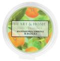 Vonný vosk Heart & Home - Mandarinka, limetka & bazalka (26 g) -