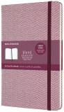 Moleskine Blend zápisník purpurový L, tečkovaný - Moleskine