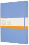 Moleskine Zápisník světle modrý XL, měkký linkovaný - Moleskine