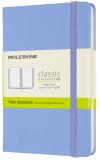 Moleskine Zápisník modrý světle S, čistý, tvrdý - Moleskine