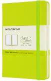 Moleskine Zápisník žlutozelený S, čistý, tvrdý - Moleskine
