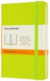 Moleskine Zápisník žlutozelený S, linkovaný, tvrdý - Moleskine
