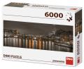 Puzzle 6000 Londýn v noci - Dino Toys
