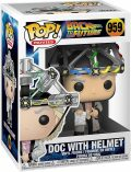 Funko POP Movie: BTTF S4 - Doc w/helmet - MagicBox
