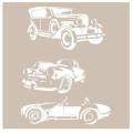 Cadence šablona 21x30 cm - auta - Cadence