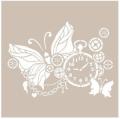 Cadence šablona 21x30 cm - motýlí čas - Cadence