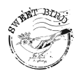 Cadence šablona kolekce HomeDeco 25x25 cm - královský ptáček - Cadence