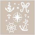 Cadence šablona 21x30 cm - námořní - Cadence
